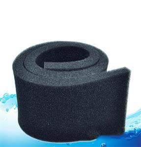 black 50 12 2cm biochemical cotton filter aquarium fish tank pond foam sponge filter useful tool
