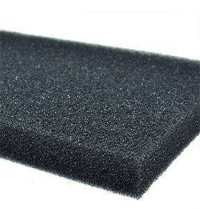 black 50 12 2cm biochemical cotton filter aquarium fish tank pond foam sponge filter useful tool 2