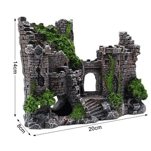 Resin Ancient Castle Decoration