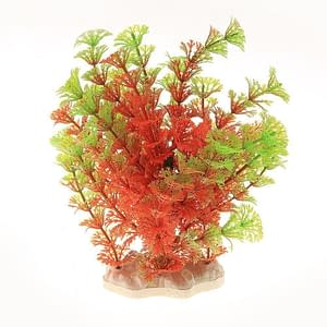 Red Green Plastic Plant Grass Aquarium Decorative Fish Tank Landscape Decoration