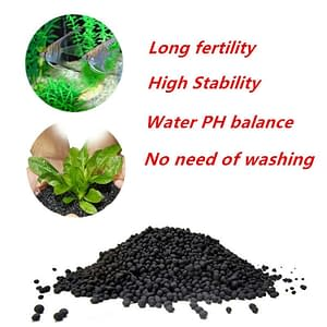 Aquarium substrate with fertilizer for plants 50g/100g/200g