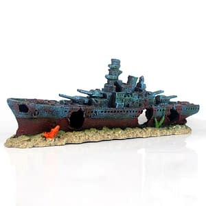 Battleship Wreak Resin (Large)