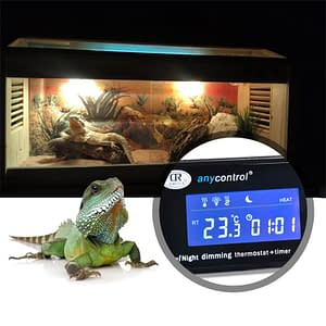 DTC-120 Thermostat Temperature Controller Day; Night Dimming Reptile Aquarium Tank