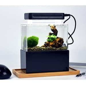 USB Aquarium Aquaponic Aquarium with Water Filtration LED