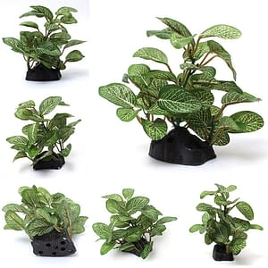 Artificial LanLan Green Plant Aquarium Decorations