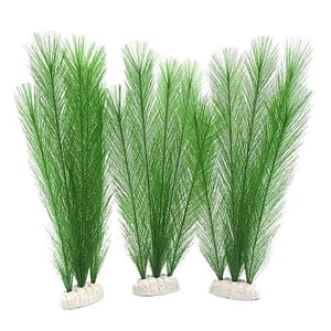 Aquarium Decorations Artificial Green Water Plants Made Of Silk Fabrics