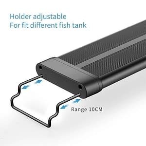 LED Waterproof Aquarium Light 30/45cm with night/day auto on/off