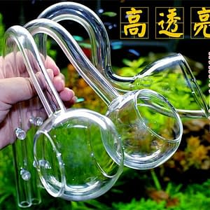 Lily glass pipe ADA quality with double suction cup
