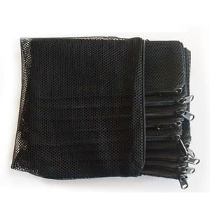 5Pcs Black White Filter Net Bag Mesh Bag For Bio Ball / Carbon Media