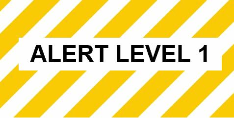 Alert Level 1