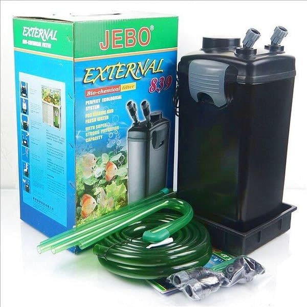 Jebo AP839 AP 839 5 stage external aquarium external canister filter JEBO 839 fish tank