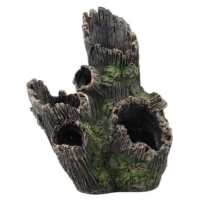 Aquarium Driftwood Decoration Artificial Resin Tree Trunk For Fish Tank
