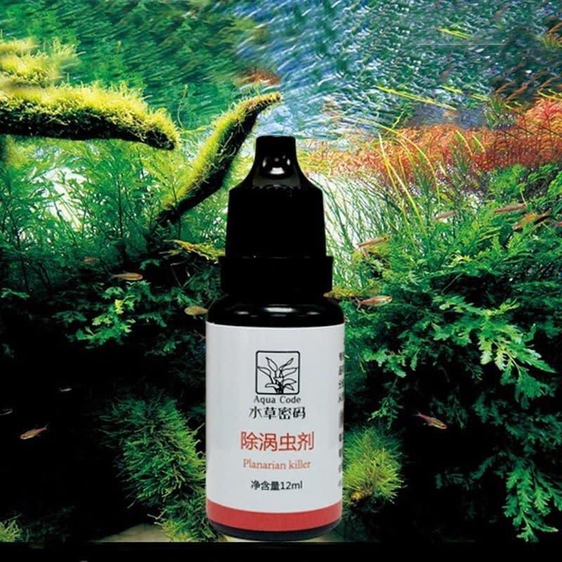 12ml Worm Disinfectant Hydra Planaria Killer for Aquarium Fish Shrimp Tank