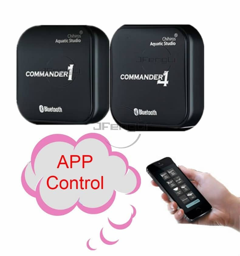 Chihiros Smart Controller Commander 1 / Commander4 App simulate Sunrise And Sunset