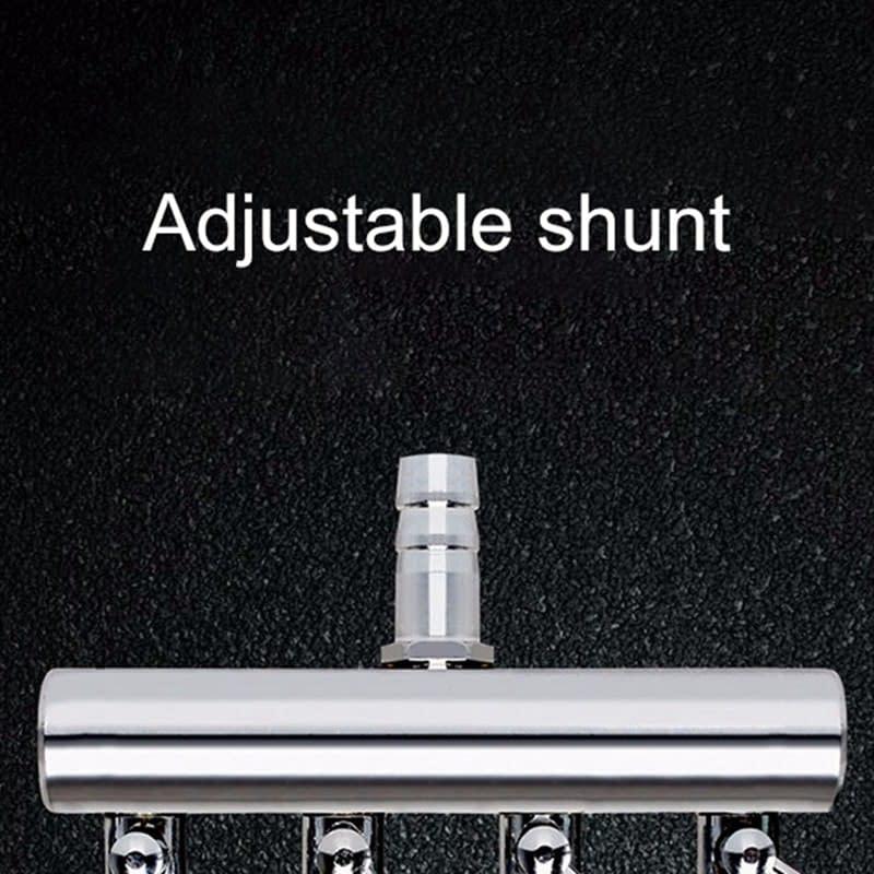 Aquarium Air Pump Splitter Distributor Valves 2/4/6/8/10 Ways