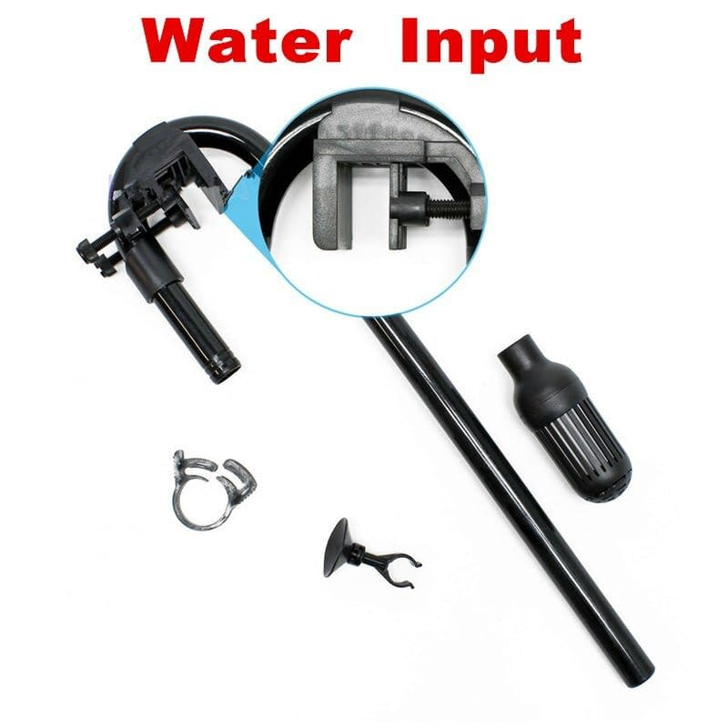 External Aquarium Filter Canister Input Output 16/22mm Tube Aquarium Accessories