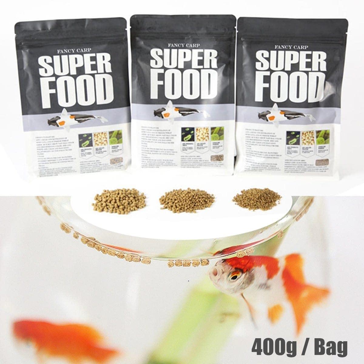 Aquarium Tank Pond Floating Pellet Carp Goldfish Food 400g/Bag