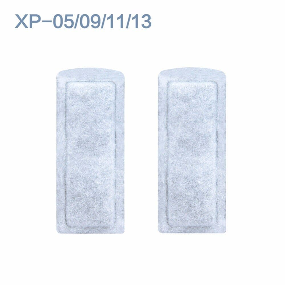 Nicrew 10PCS Aquarium XP 05/09/11/13 Biochemical Cotton Sponge Activated Carbon Media