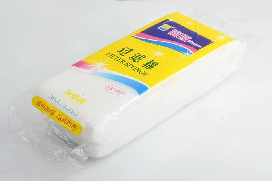 NICREW Aquarium Biochemical Filter Cotton Sponge