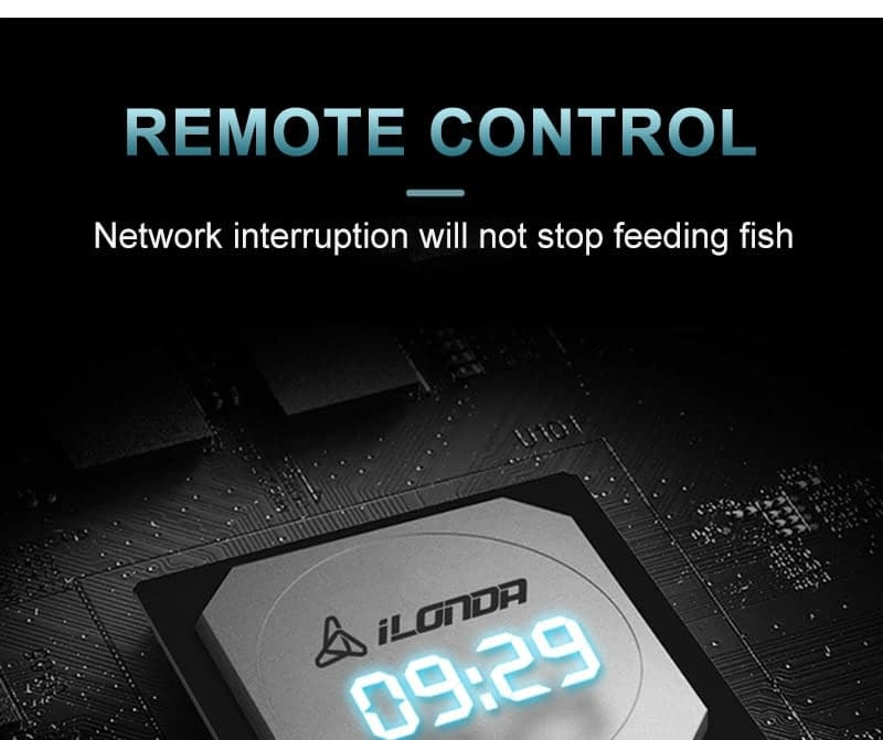 SUNSUN Automatic Aquarium Food Feeder Remote Control WIFI Wireless Fish Tank Auto Timer Fish Feeder