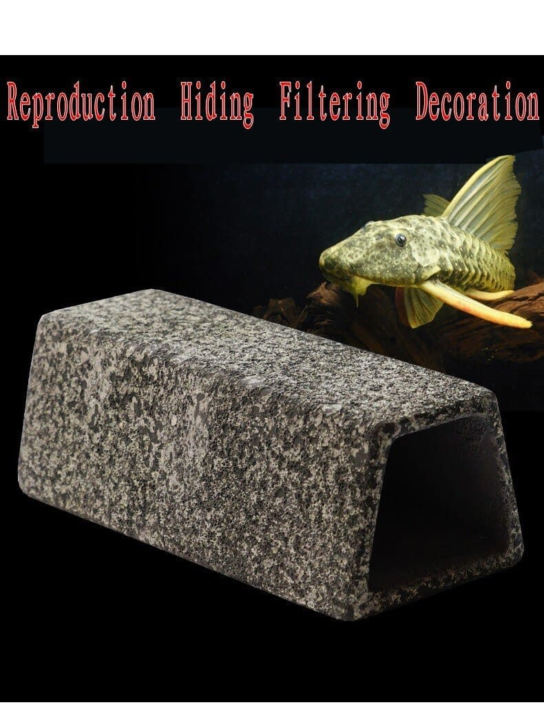 Aquarium  pottery breeding Hide