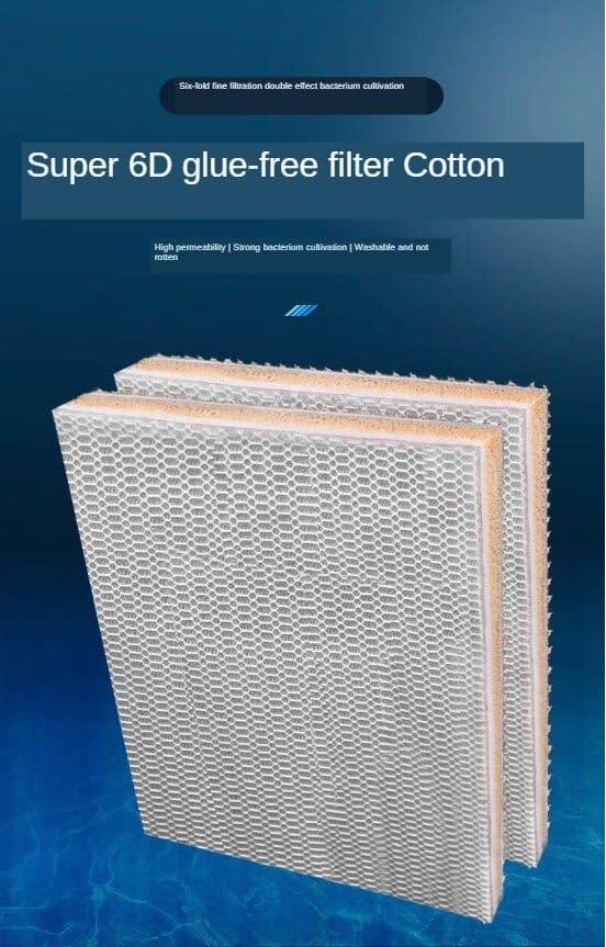 MultiLayer filter biochemical cotton filter sponge