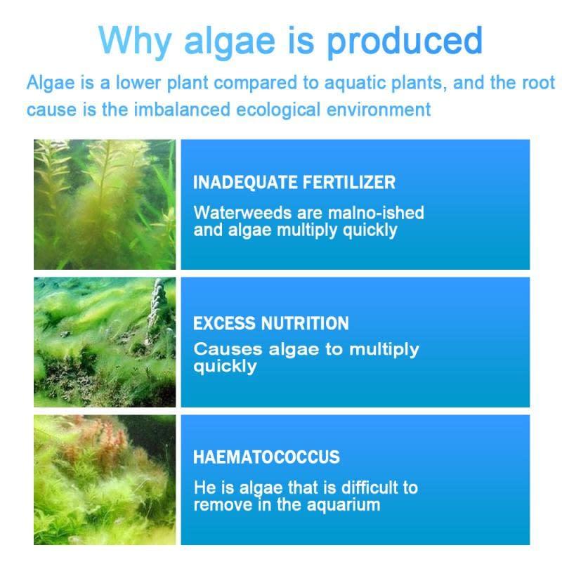 Aquarium Tools Algae Repellent Agent