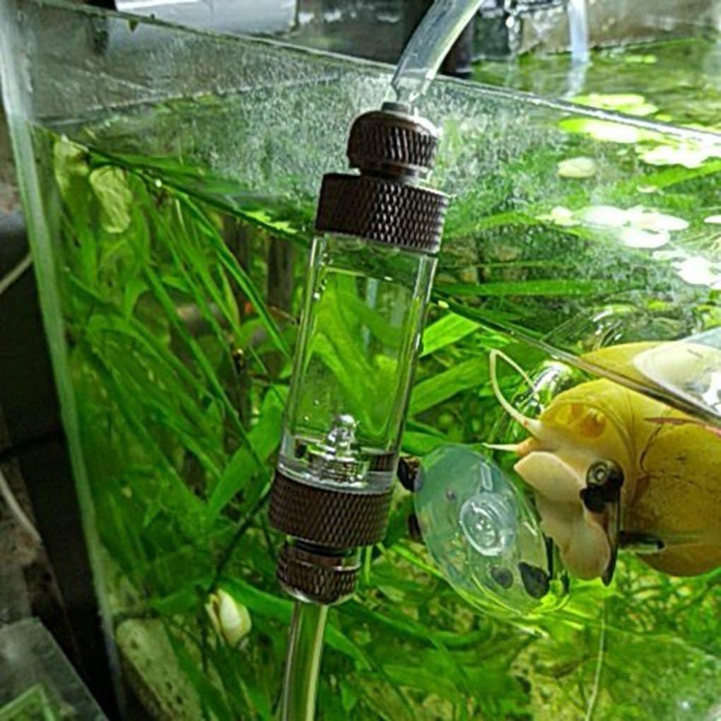 Single/Double Head Aquarium CO2 Bubble Counter Aluminum