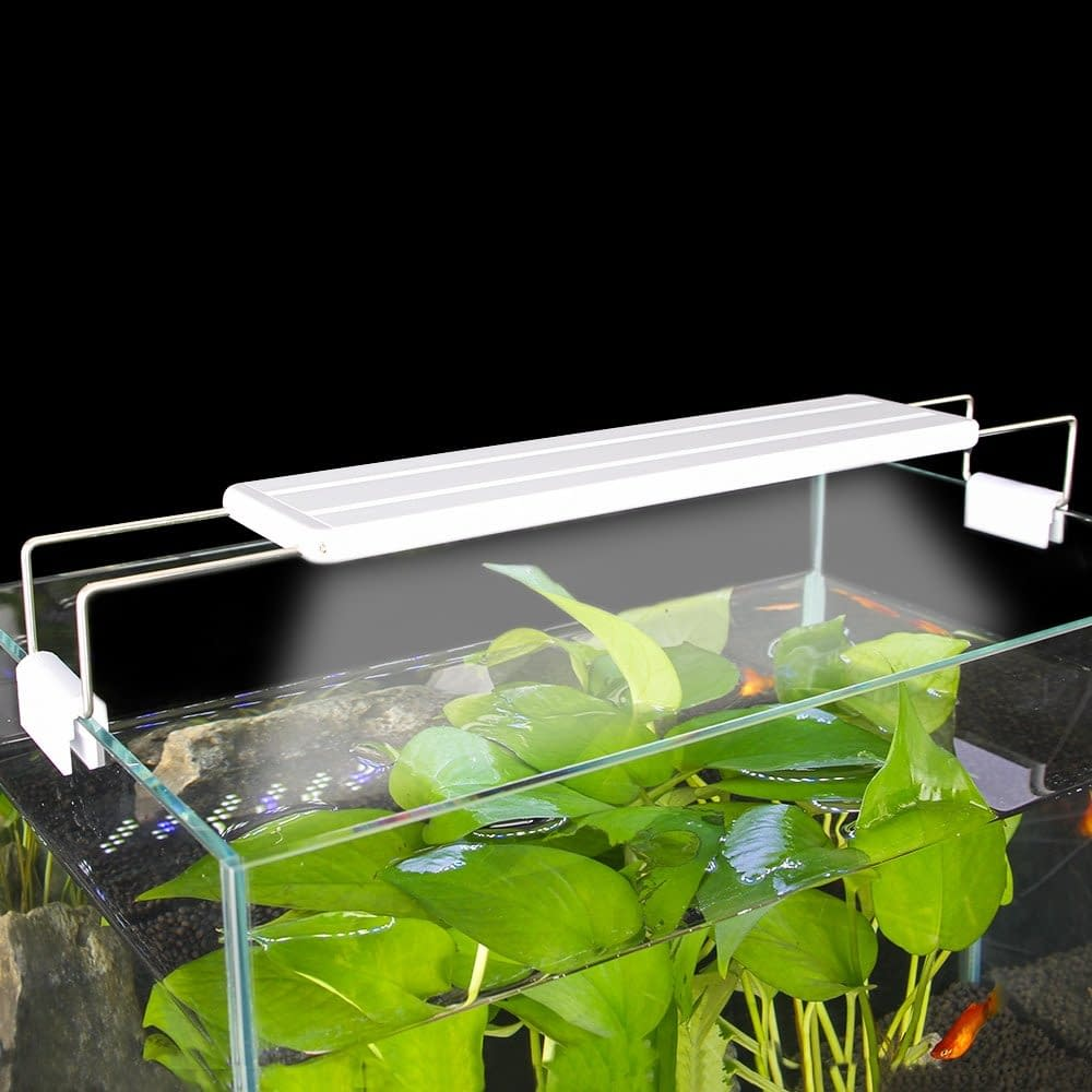 Aquarium Extendable Slim Dimmable Clip-on Light Aquarium Light