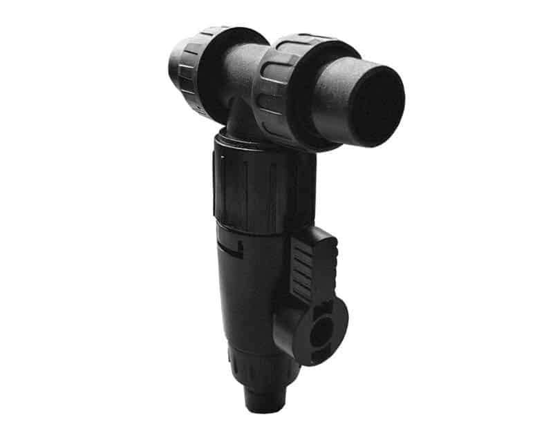 Aquarium External Three Way Water Change Exchange Connector Filter from Canister