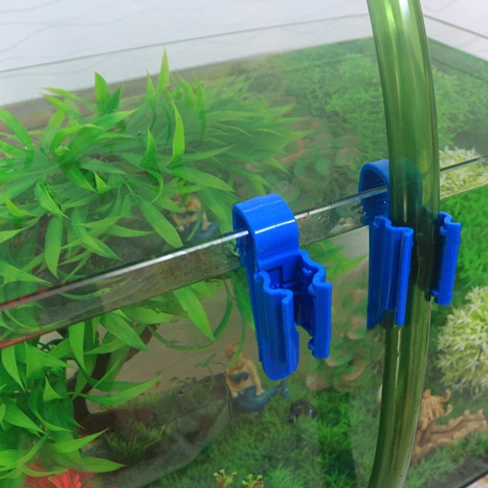 Mounting Clip For 8-16mm Water Pipe (1PC,Blue)