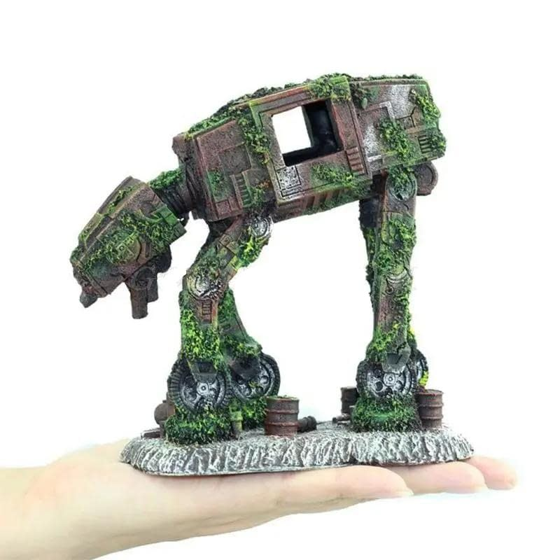 Star Wars AT-AT Styled Resin Tank Decor